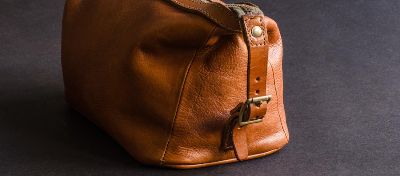 Soft Leather Dopp Kit by Kaufmann Mercantile