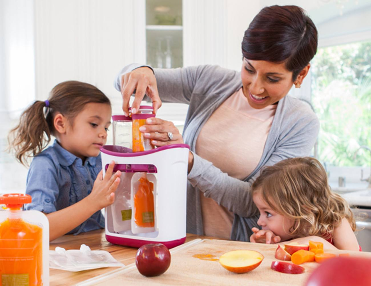 Squeeze Station Food Pouch System 187 Gadget Flow