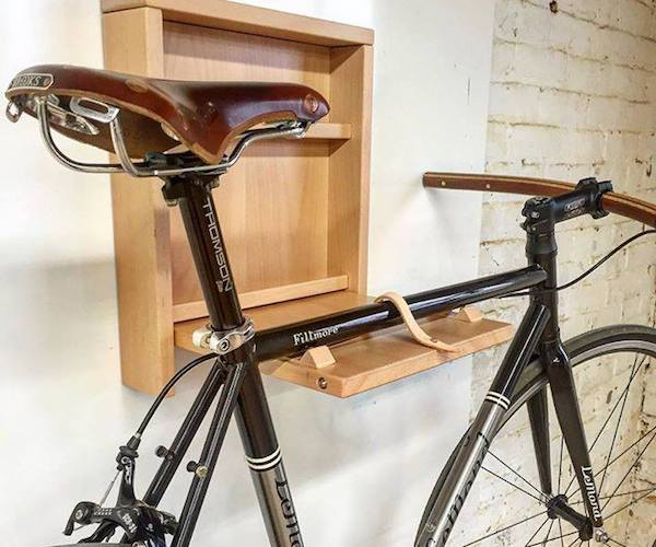 Stow – The Space Saving Bike Mount by Lignum