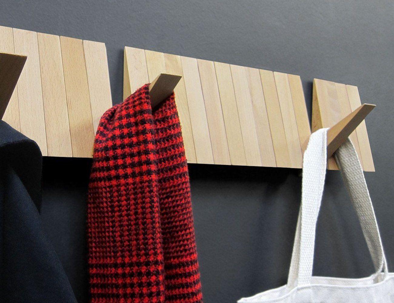 Wall+Mounted+Coat+Rack