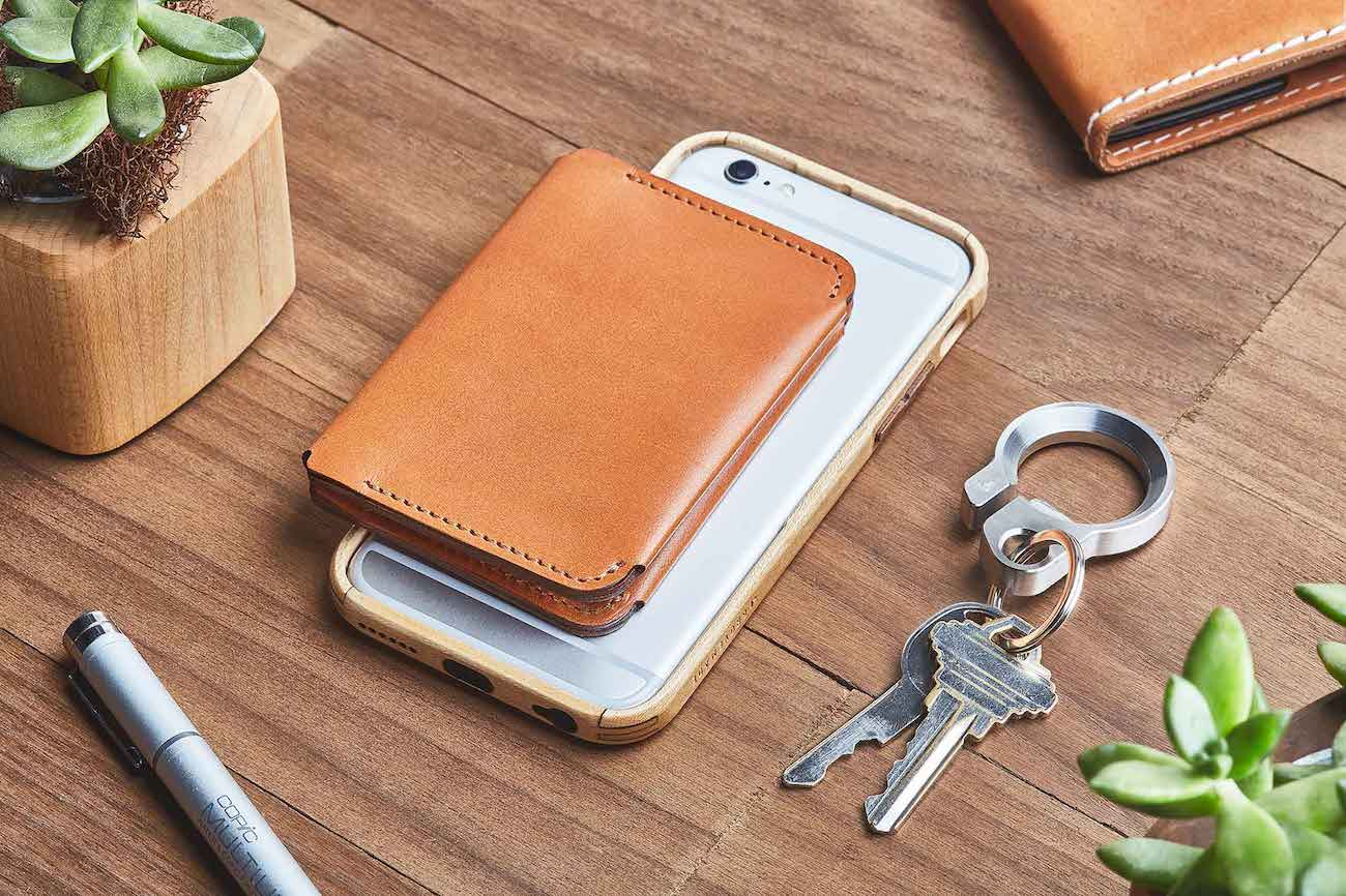 Tan Leather Bifold Wallet by Grovemade