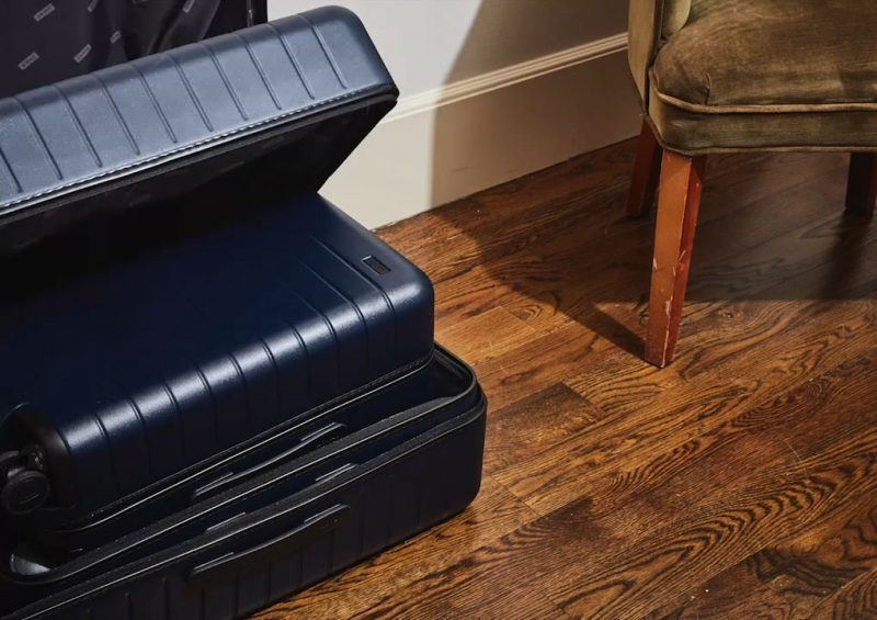 The Medium Checked Bag by Away Travel