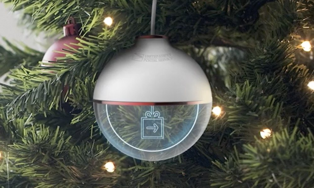 The Most Wonderful Tracking Ornament