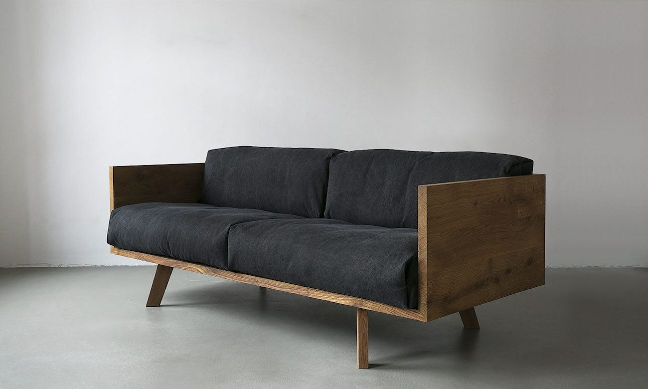 ... The Oak Linen Sofa from NUTSANDWOODS ... - The Oak Linen Sofa From NUTSANDWOODS » Gadget Flow