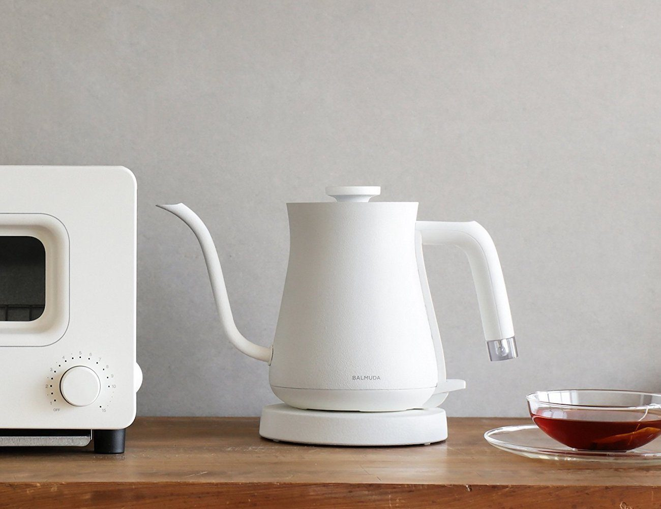 The Pot Electric Kettle by BALMUDA