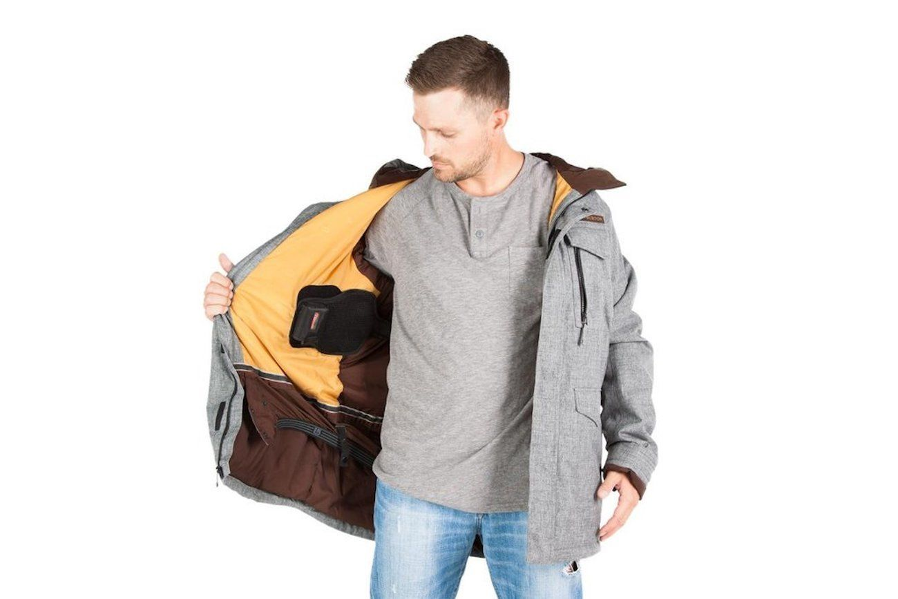 Torch Coat and Jacket Heater