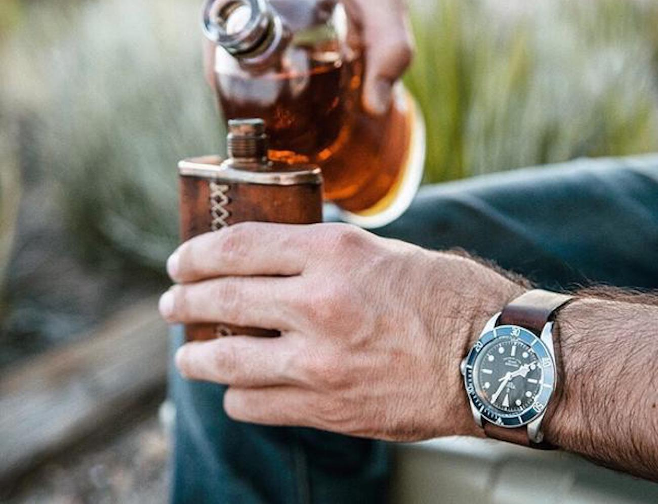 Vermonter Flask by Bexar Goods Co
