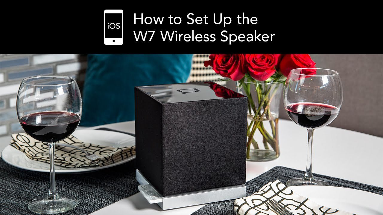 W7 Wireless Speaker by Definitive Technology