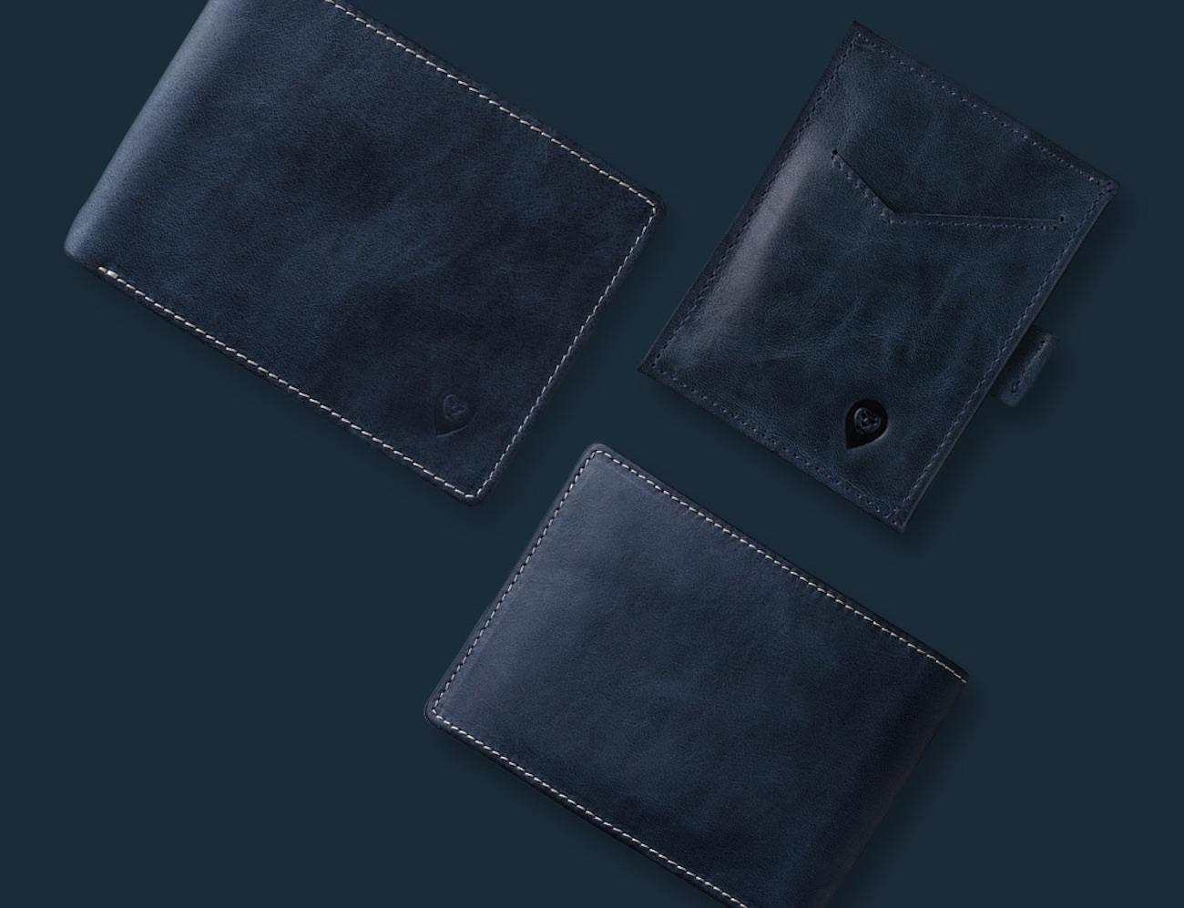 Wallor Smart RFID protected, GPS/BLTE wallet