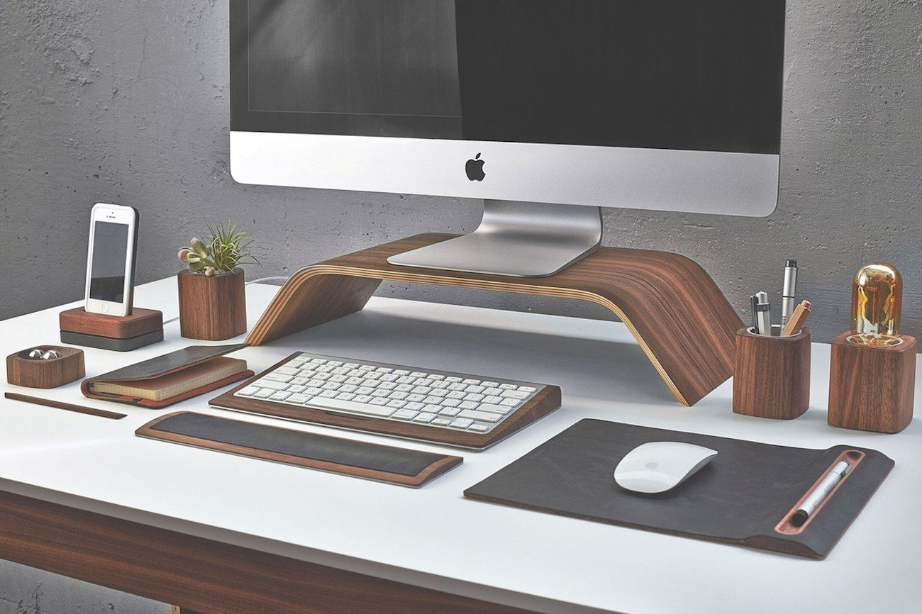 Walnut Desk Lamp from Grovemade