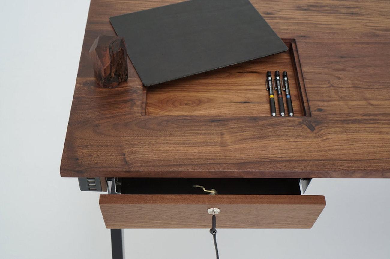 Waterfall Desk from Sean Woolsey Studio
