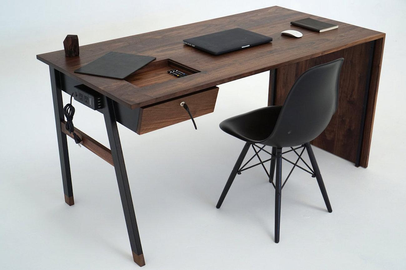 Waterfall Desk from Sean Woolsey Studio
