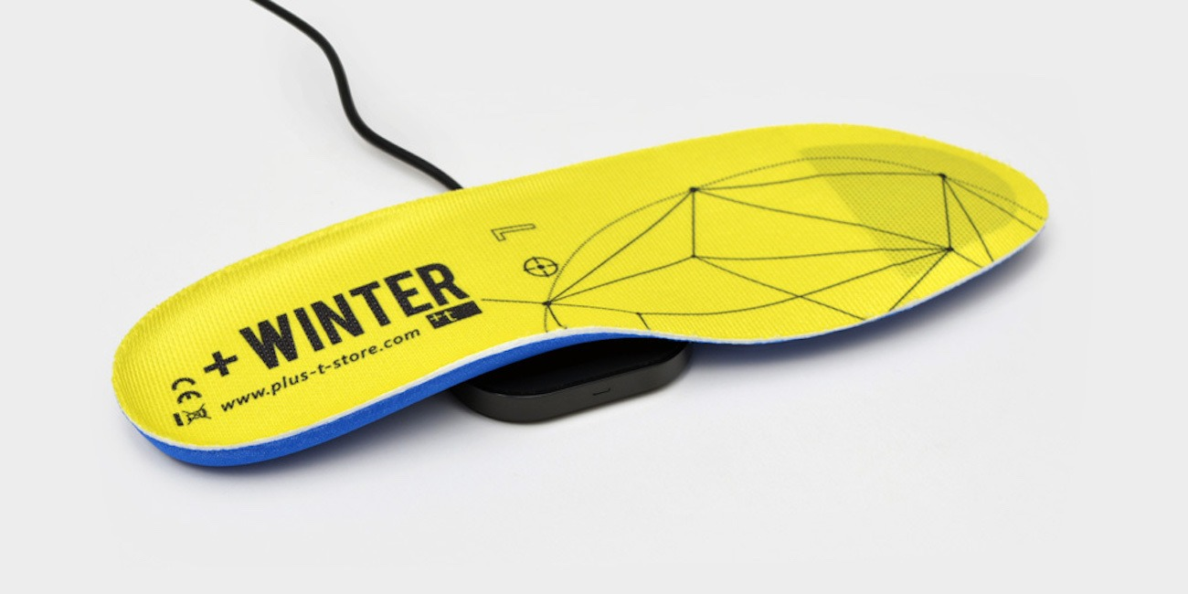 +Winter Heated Insoles by +t