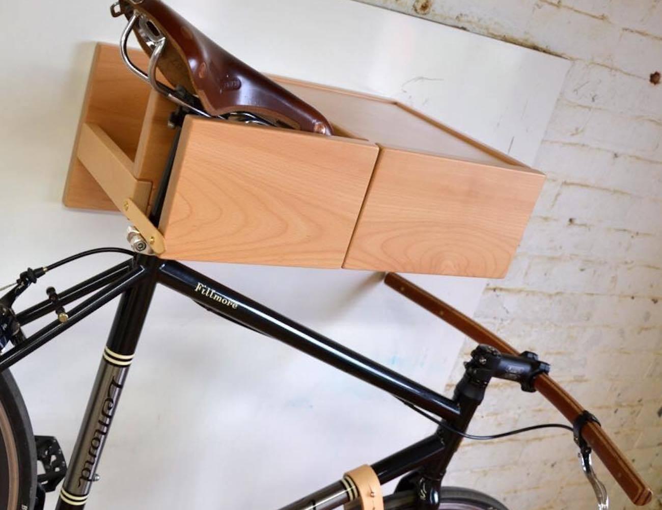Zadel Bike Rack by Lignum