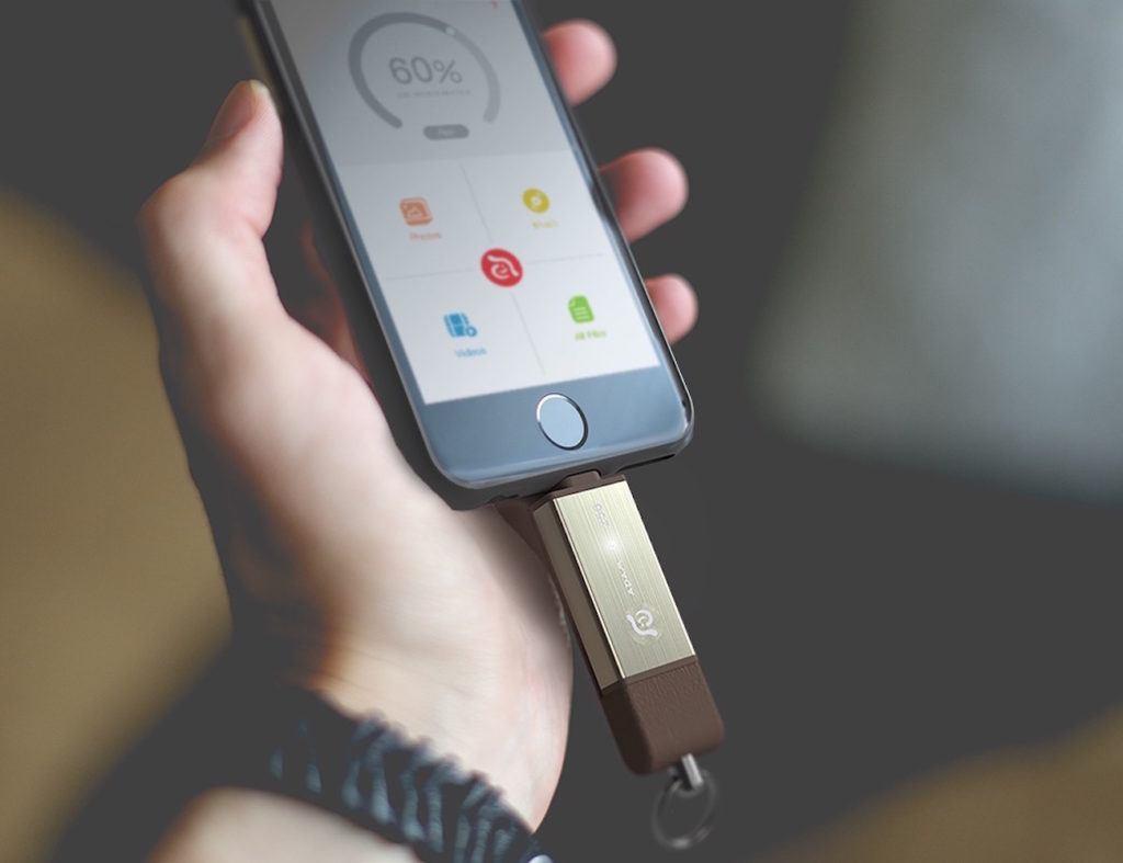 expandable iphone storage