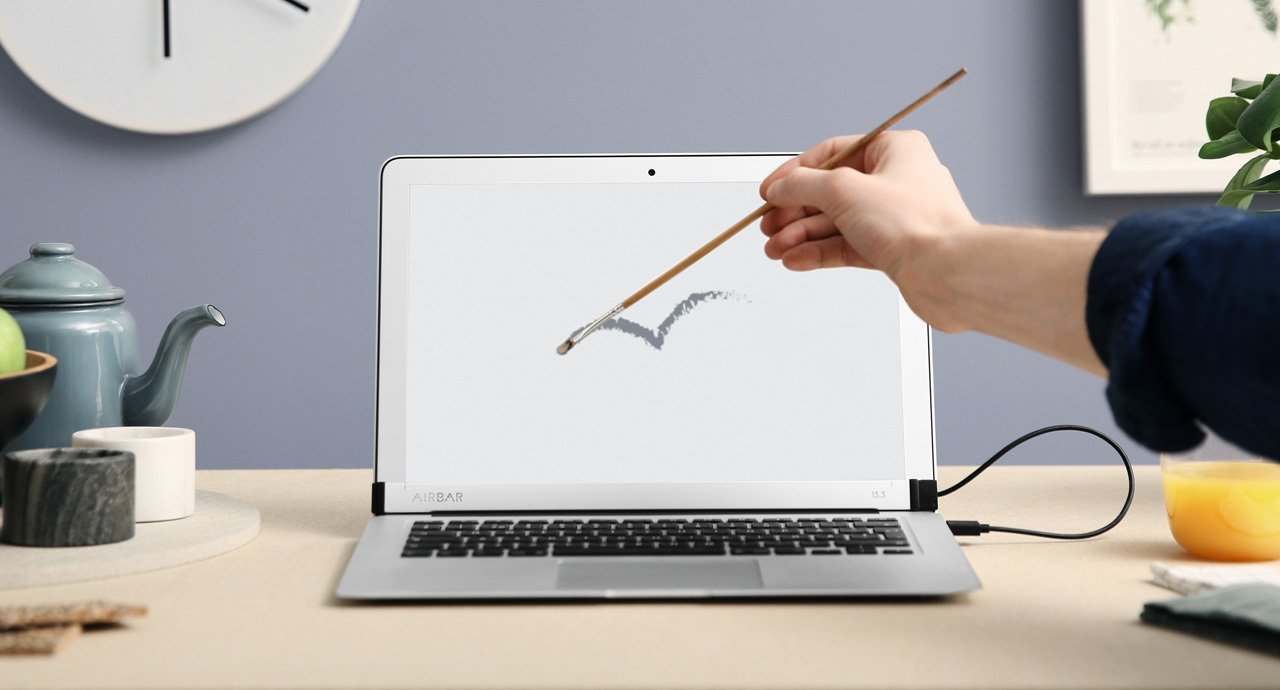 AirBar Touchscreen Sensor for MacBook Air