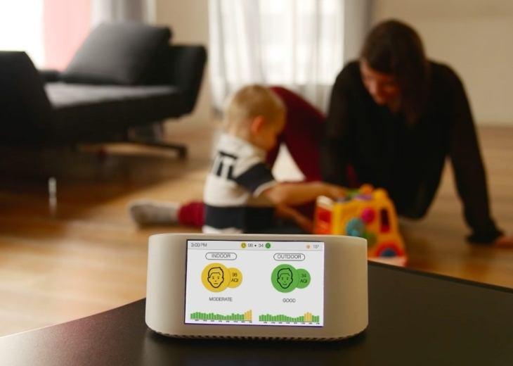 AirVisual NODE Smart Air Monitor