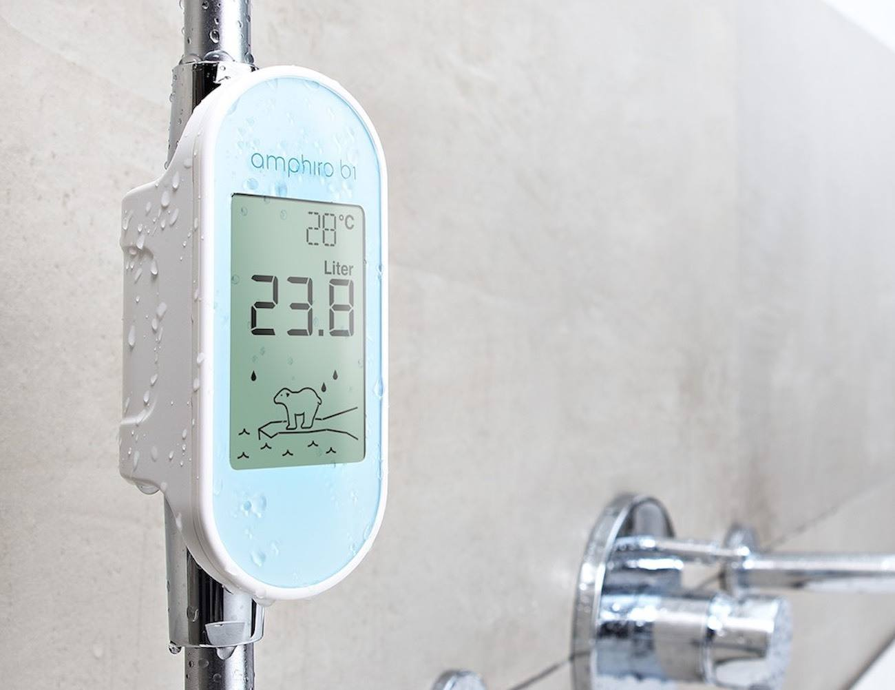 Amphrio A1 Smart Shower Meter