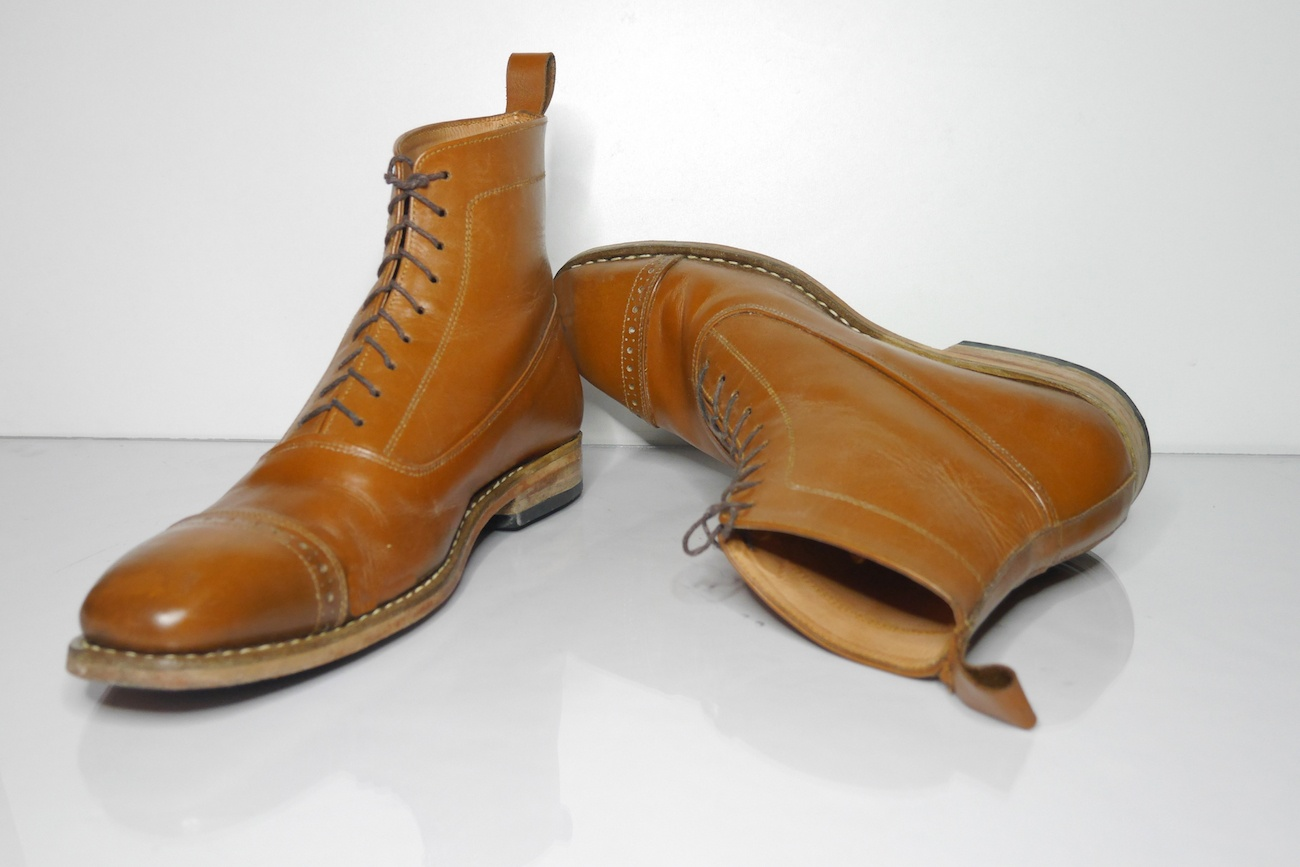 Apis Handmade Leather Boots