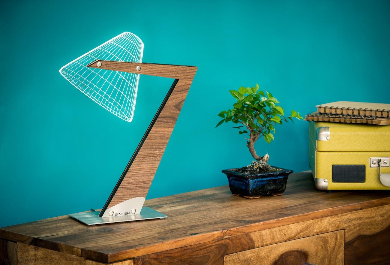 Aura+Silhouette+LED+Table+Lamp