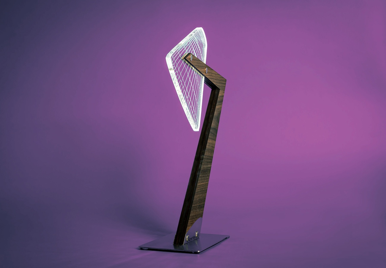 Aura Silhouette LED Table Lamp