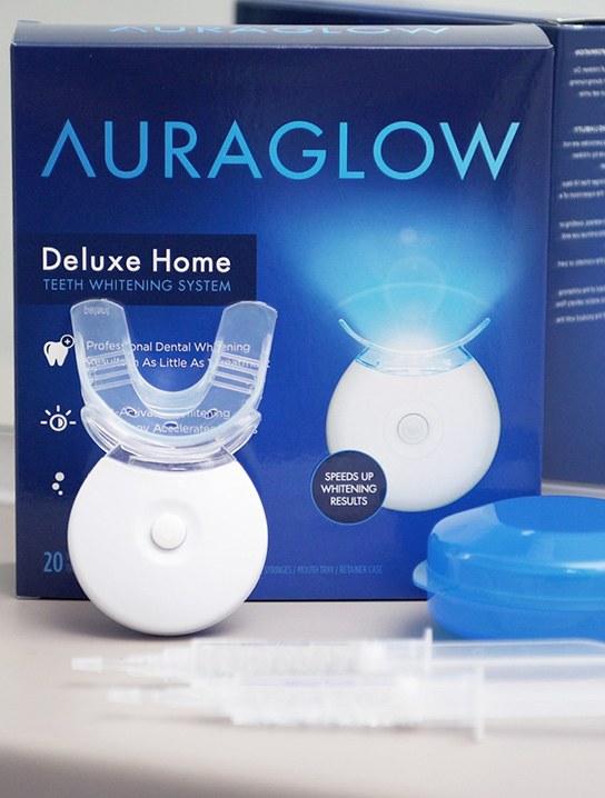Auraglow Home Teeth Whitening System 187 Gadget Flow