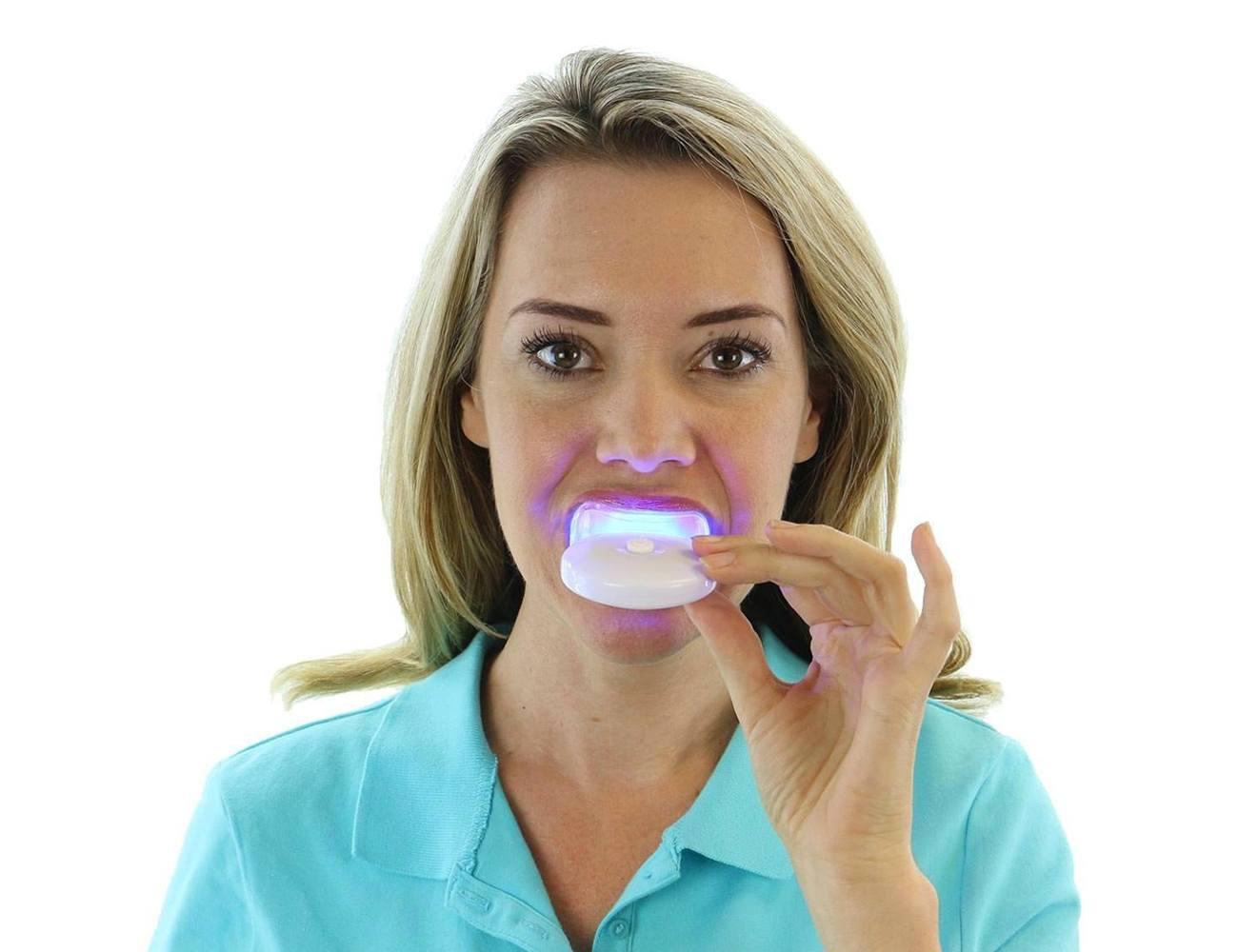 AuraGlow Home Teeth Whitening System