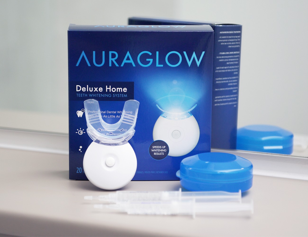 AuraGlow Home Teeth Whitening System