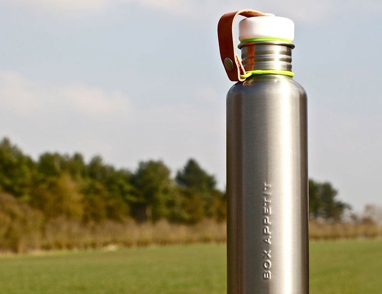 Box Appetit Stainless Steel Water Bottle
