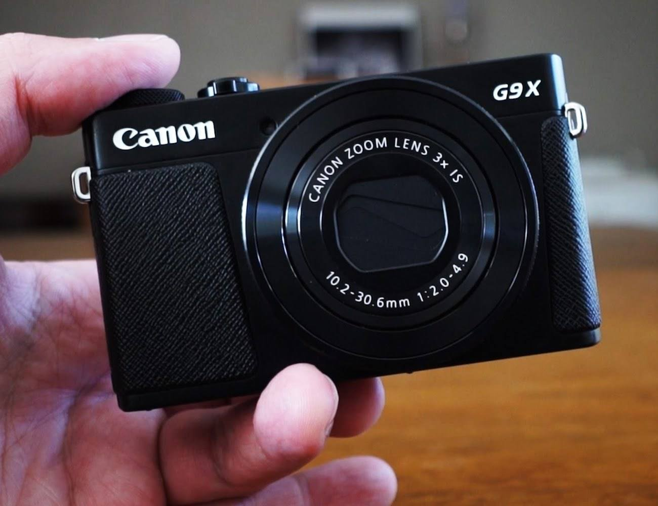 Canon PowerShot G9 X Mark II Advanced Camera