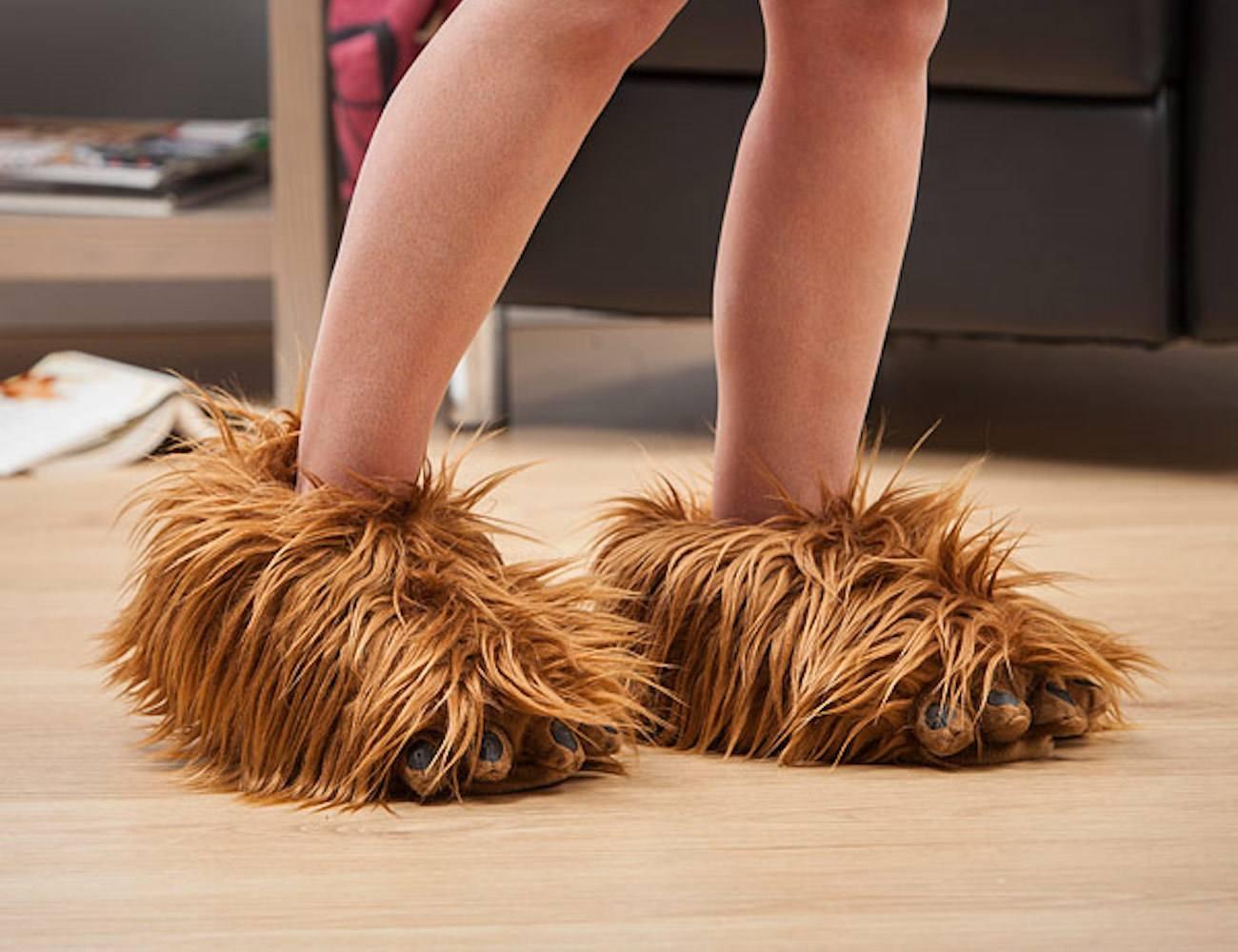 Chewbacca+Slippers