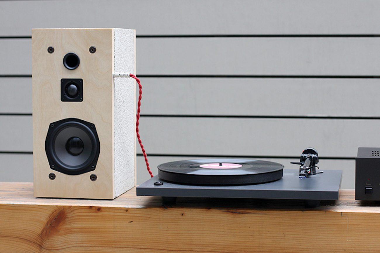 Cinder Block Speaker Kit