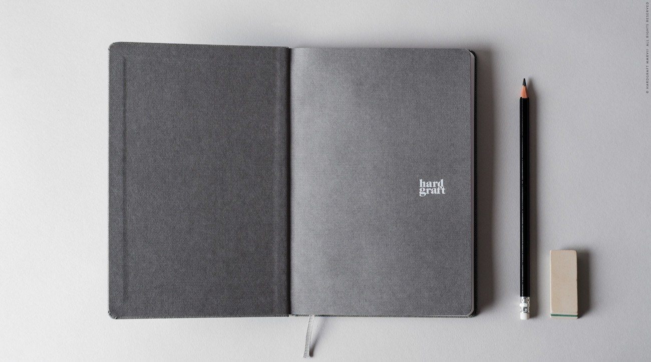 Classic Wool Notebook from Hard Graft