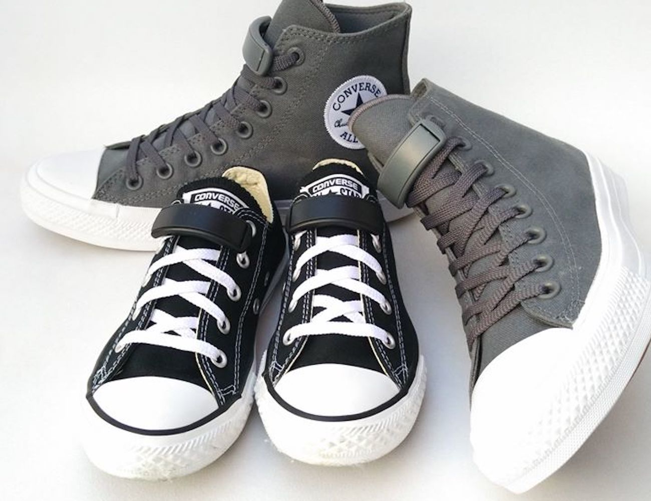 ClipIts Shoelace Tidy System