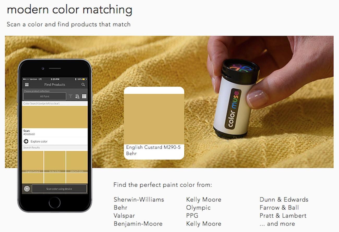 Paint Color Identifier