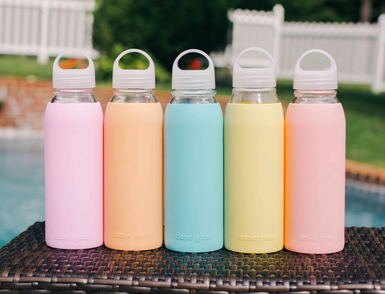 Daniel Glass Reusable Bottle