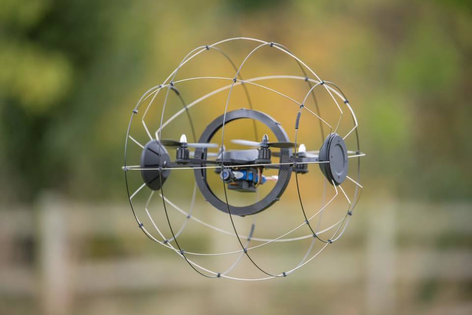 The Droneball Is a Collision Tolerant System So You Can Keep Flying