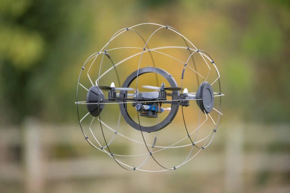Droneball Collision Tolerant Drone