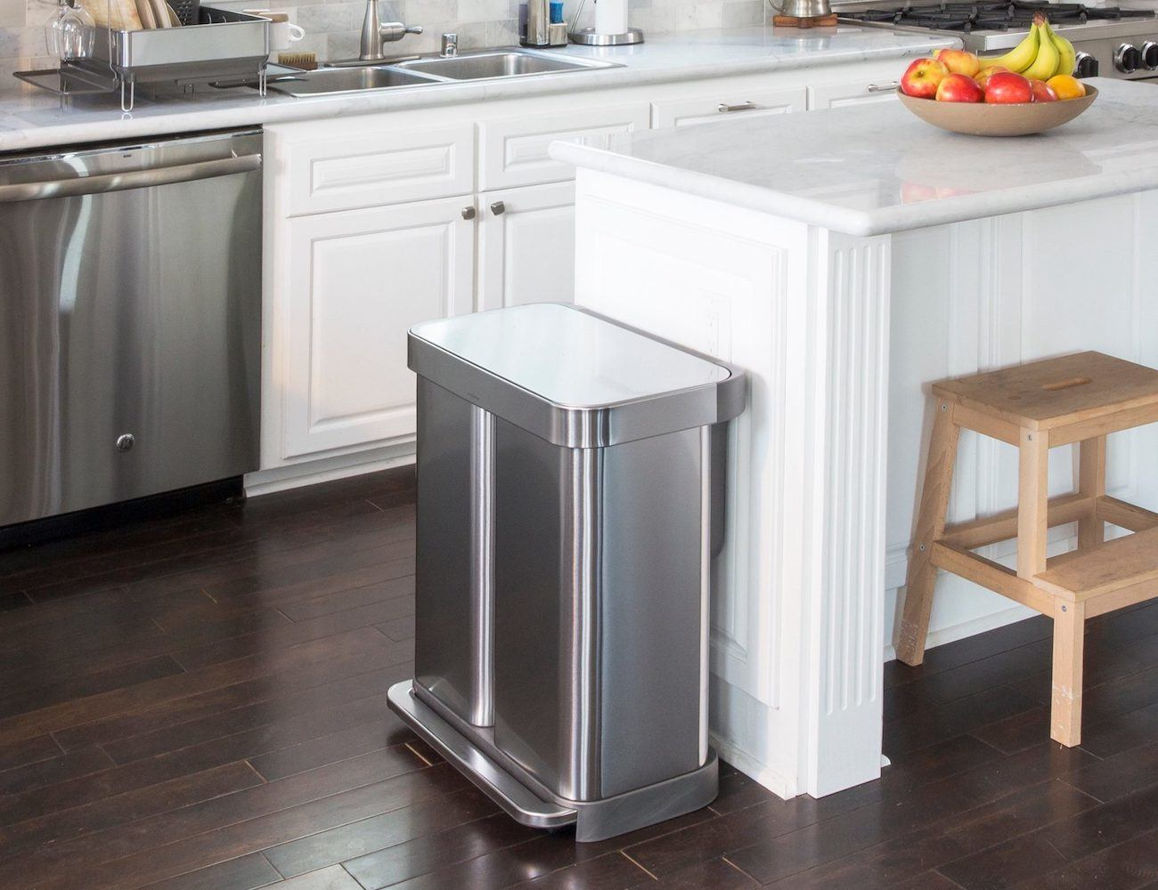 Dual Compartment Trash Cans 187 Gadget Flow
