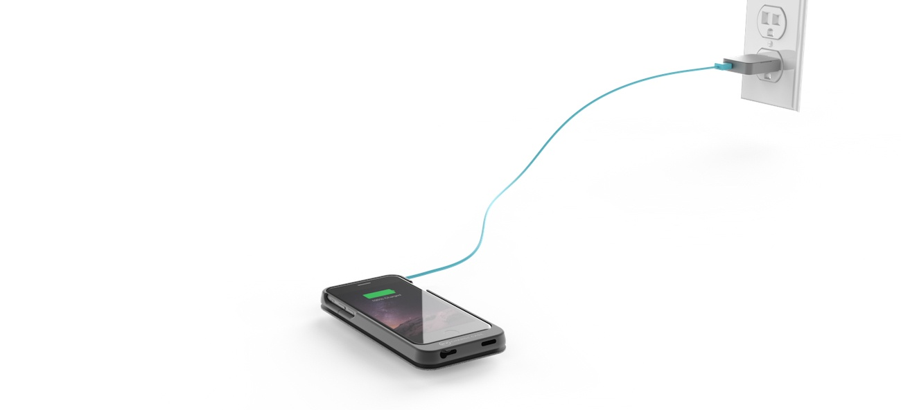 EZ Charge Pro iPhone Battery Charging Case