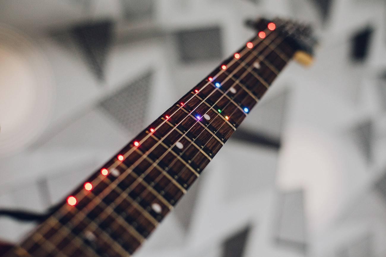 Fret Zeppelin LED Guitar Display