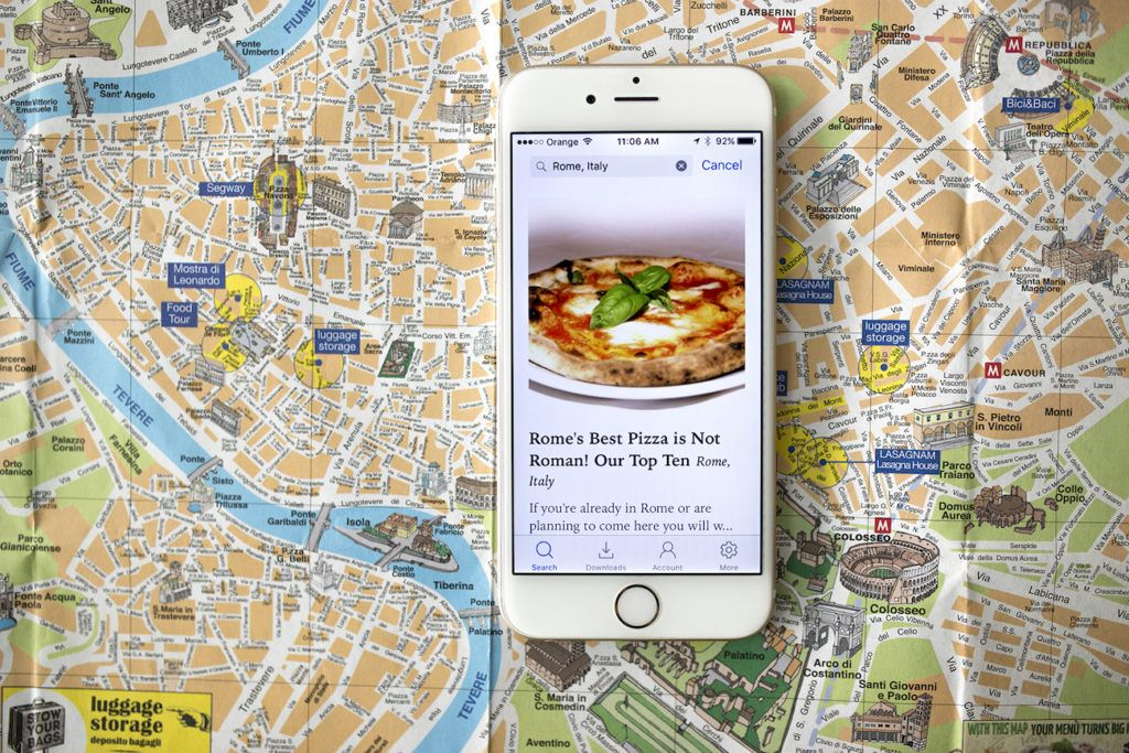 GPSmyCity GPS-Enabled Travel Articles