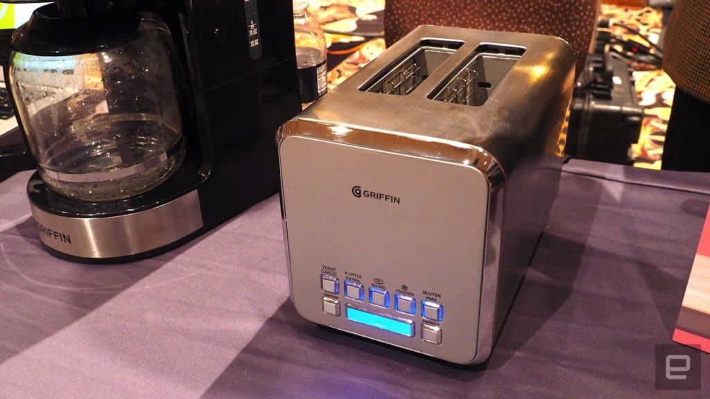 Connected Toaster