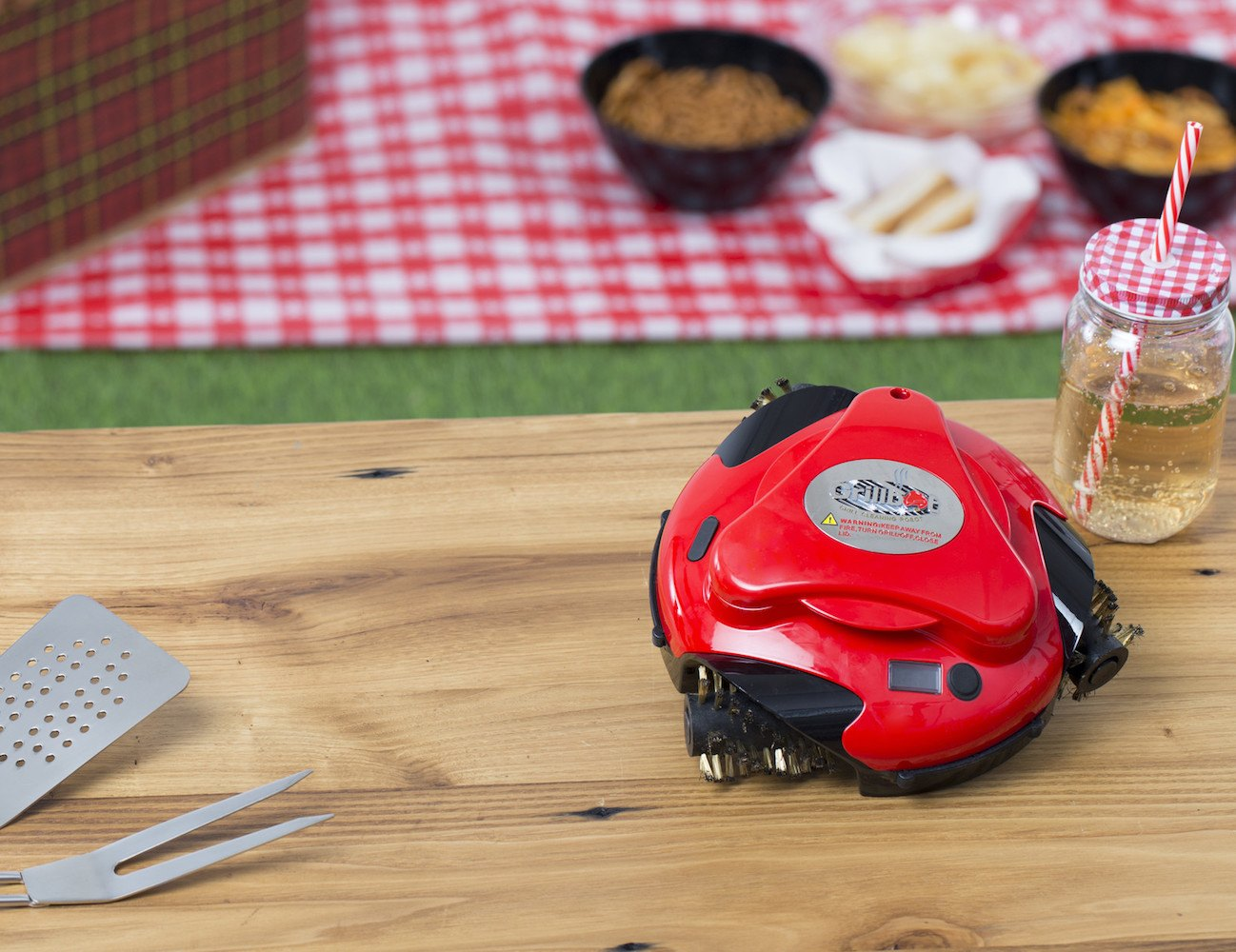 Grillbot – Automatic Grill Cleaning Robot