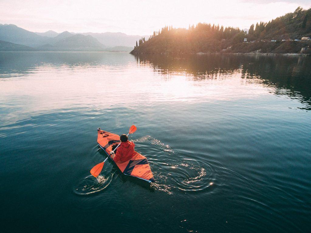 Foldable kayak
