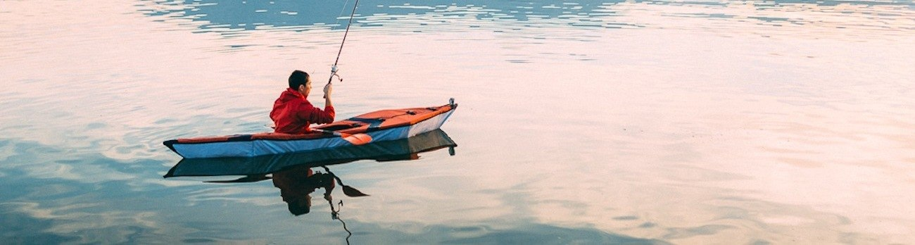 The Justin Case Foldable Kayak Assembles in Just Minutes