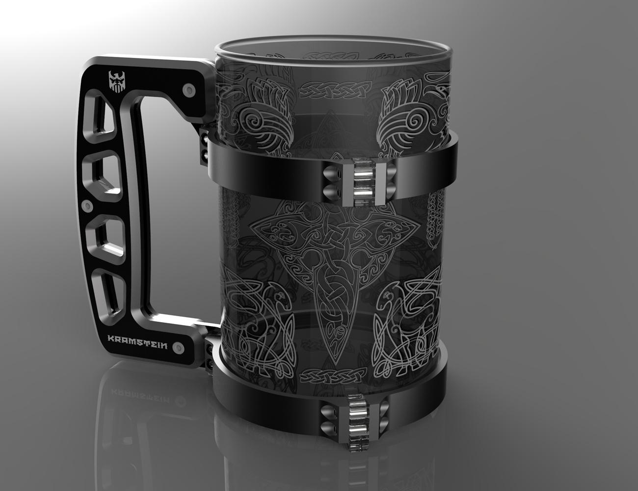 KRAMSTEIN Metal Stein