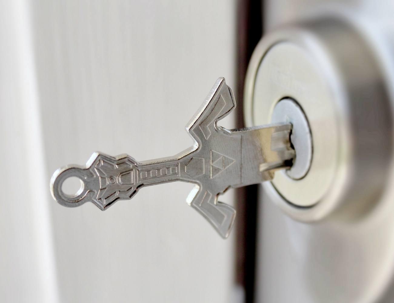 Key+Armory+Sword+Shaped+Keys