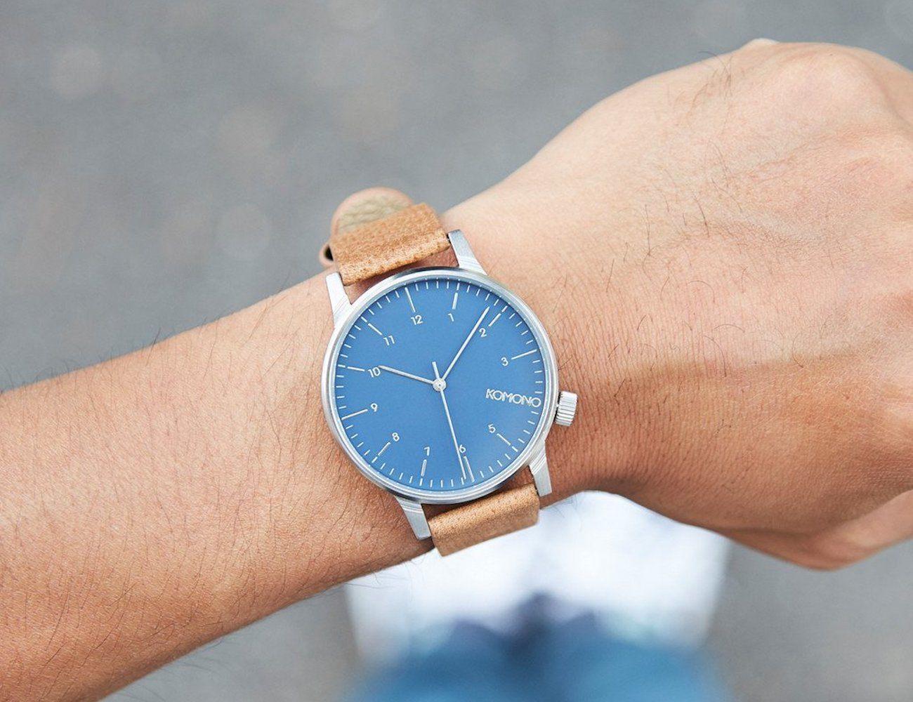 Konomo Blue Winston Watch