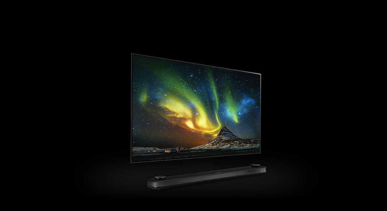 lg signature oled tv w gadget flow. Black Bedroom Furniture Sets. Home Design Ideas